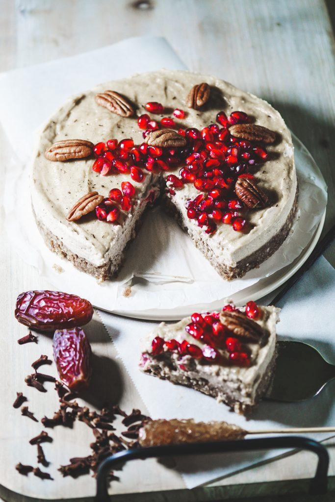 Lebkuchen-Cheesecake