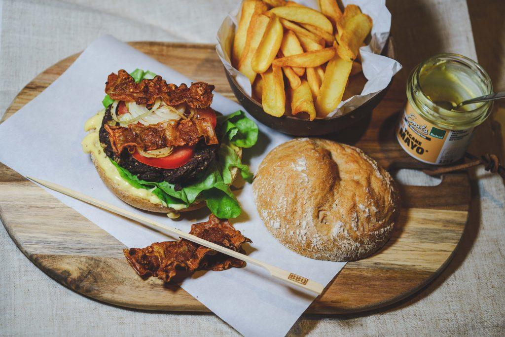 Blackbean Burger, vegan